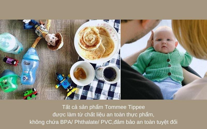 Đặc điểm Bình sữa Tommee Tippee Closer to Nature PP 260ml (bình đơn) - Xanh Dương
