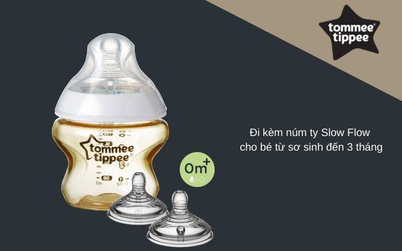 Đặc điểm Bình sữa Tommee Tippee Closer to Nature PPSU 150ml (bình đơn)