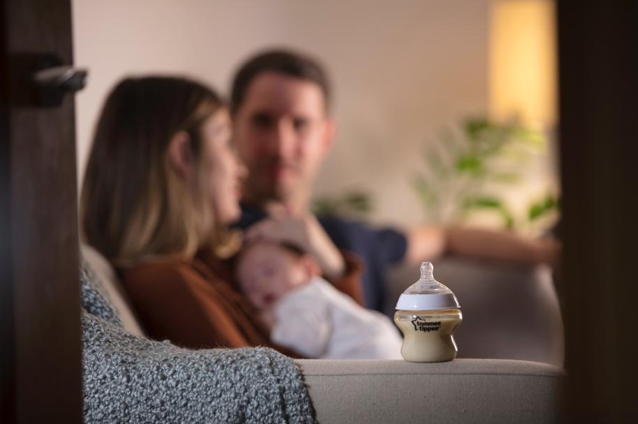 Bình sữa ty siêu mềm Tommee Tippee Closer to Nature PPSU 260ml (bình đơn)