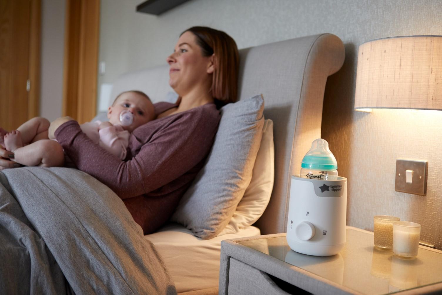 Máy hâm sữa và thức ăn cho bé Tommee Tippee Easi-Warm