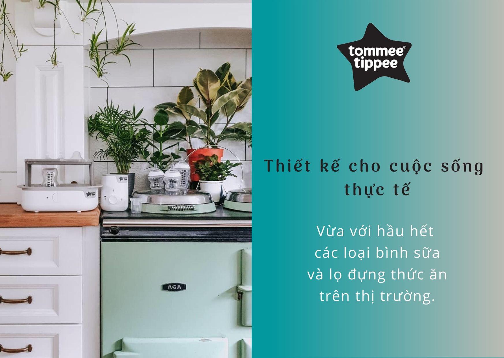 Đặc điểm Máy hâm sữa và thức ăn cho bé Tommee Tippee Easi-Warm