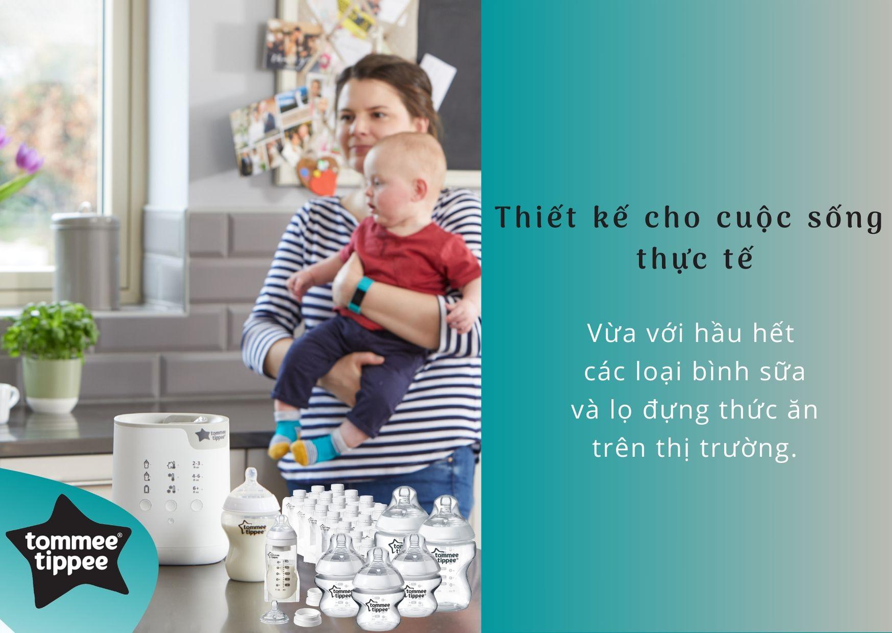 Đặc điểm Máy hâm bình sữa và hâm túi trữ sữa Tommee Tippee All in One