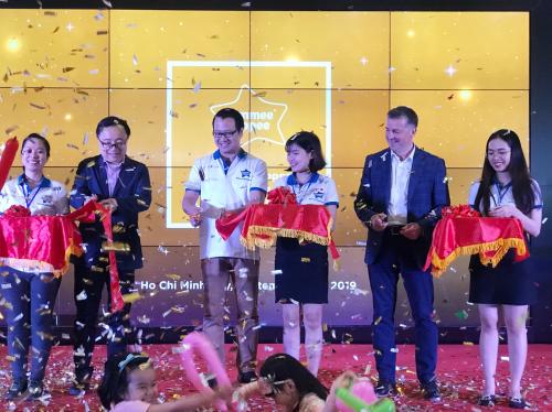 Sự kiện ra mắt Tommee Tippee tại Việt Nam vừa được tổ chức tại trung tâm thương mại Aeon Mall Tân Phú., TP HCM.