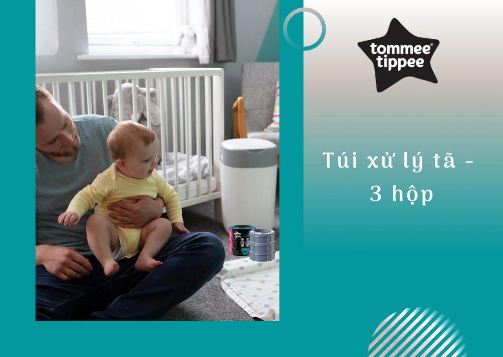 Túi xử lý tã cho bé Tommee Tippee (3 hộp)