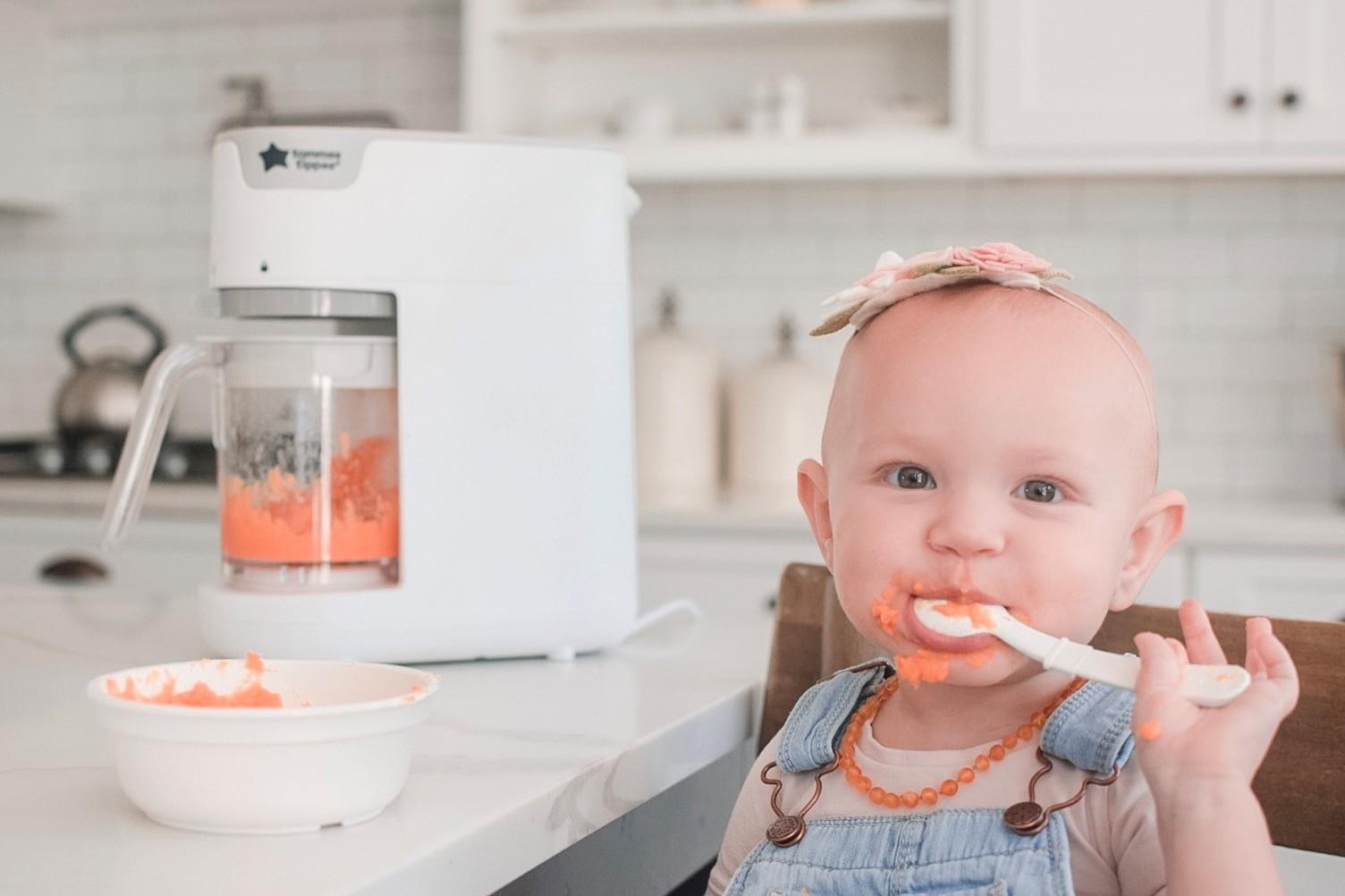 Máy xay hấp thức ăn cho bé Tommee Tippee Quick-Cook